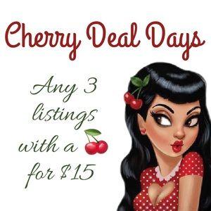 🍒🍒 Cherry Deal Days! 🍒🍒